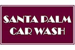 SANTA PALM CAR WASH logo