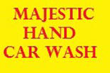 MAJESTIC CAR WASH logo