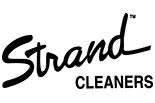 STRAND CLEANERS logo