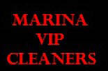 MARINA VIP CLEANERS logo
