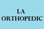 LA ORTHOPEDIC logo