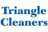 TRIANGLE CLEANERS logo