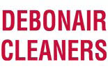 DEBONAIR CLEANERS** logo