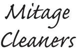 MITAGE CLEANERS logo