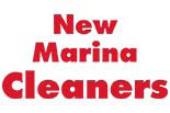 NEW MARINA CLEANERS logo