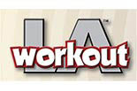 LA WORK OUT logo