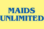 MAIDS UNLIMITED logo