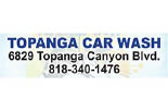 TOPANGA CAR WASH logo