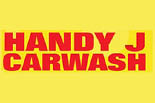 HANDY J CAR WASH & LUBE & OIL logo