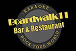 BOARDWALK 11 BAR & RESTAURANT logo