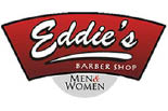 EDDIE'S  BARBER SHOP logo
