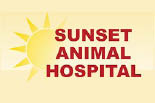 SUNSET ANIMAL HOSPITAL logo