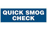 QUICK SMOG CHECK logo