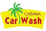 CABANA CAR WASH logo