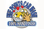 FIVE POINTS CAR WASH logo
