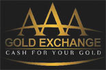 AAA GOLD EXCHANGE Moval logo