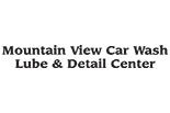 MOUNTAIN VIEW CAR WASH logo
