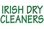 IRISH DRY CLEANERS logo