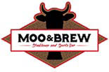 MOO & BREW STEAKHOUSE & SPORTS BAR logo