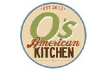 O'S AMERICAN KITCHEN logo