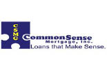 COMMON SENSE MORTGAGE logo