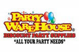 PARTY WAREHOUSE logo