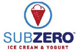 SUB ZERO ICE CREAM logo