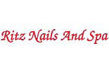 RITZ NAILS AND SPA logo