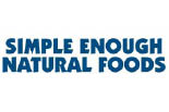 SIMPLE ENOUGH NATURAL FOODS logo