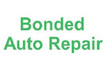 BONDED TRANSMISSION AND AUTO REPAIR logo