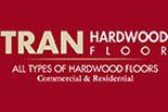 TRAN HARDWOOD FLOORS logo