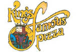 KING'S FAMOUS PIZZA logo