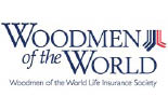 Gloria King/Woodmen of the World logo