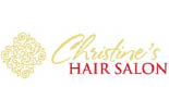 CHRISTINE'S HAIR SALON logo