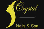 CRYSTAL NAILS & SPA logo