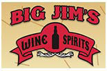 BIG JIM'S WINE & SPIRITS logo