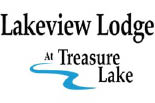 TREASURE LAKE LAKEVIEW LODGE logo