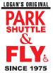 Logan's Original Park Shuttle & Fly Logo