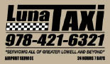 Luna Taxi of Lowell, MA logo