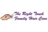 The Right Touch Family Hair Care logo