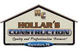 HOLLAR'S CONSTRUCTION