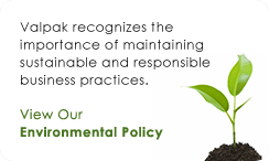 Valpak Environmental Policy