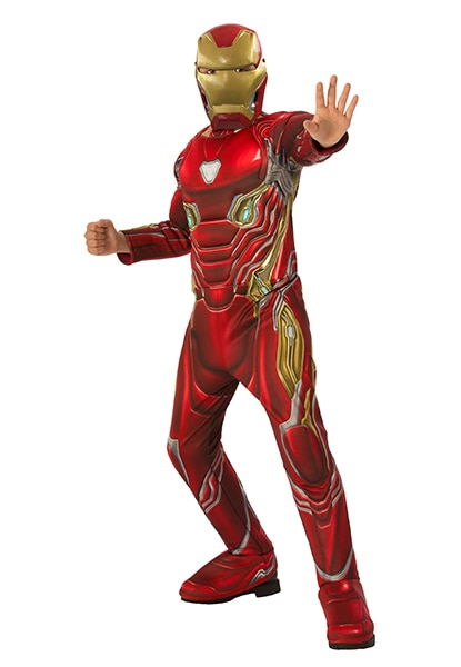 Iron Man costume from Infinity War available from Halloween Express