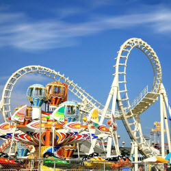 4 Ways to Save Money at<br>Theme Parks