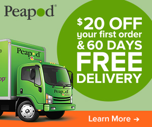 $20 Off Your First Order and 60 Days Free Delivery with Peapod