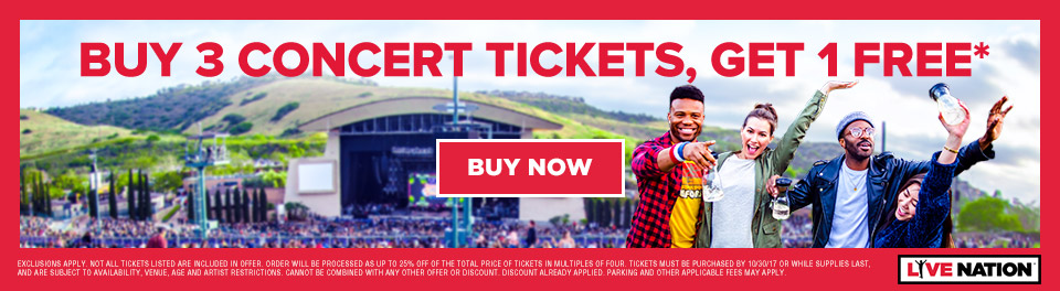 The Valpak Ticket to Summer Campaign presented with Live Nation