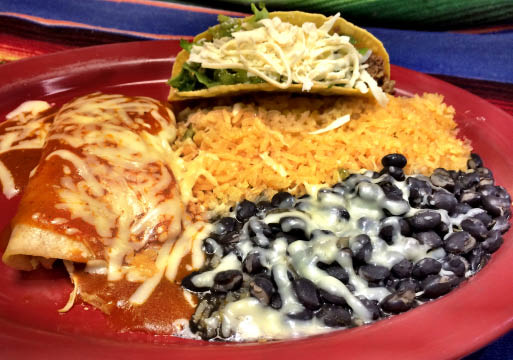 mexican entree food dumfries virginia