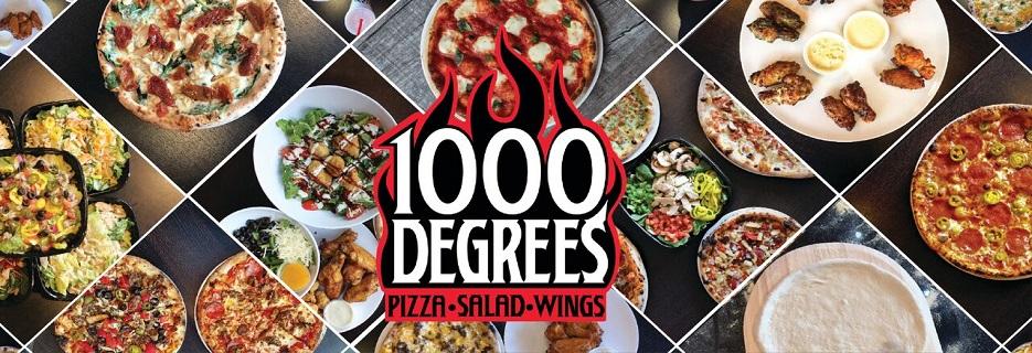 1000 Degrees Neapolitan Pizzeria banner omaha, ne