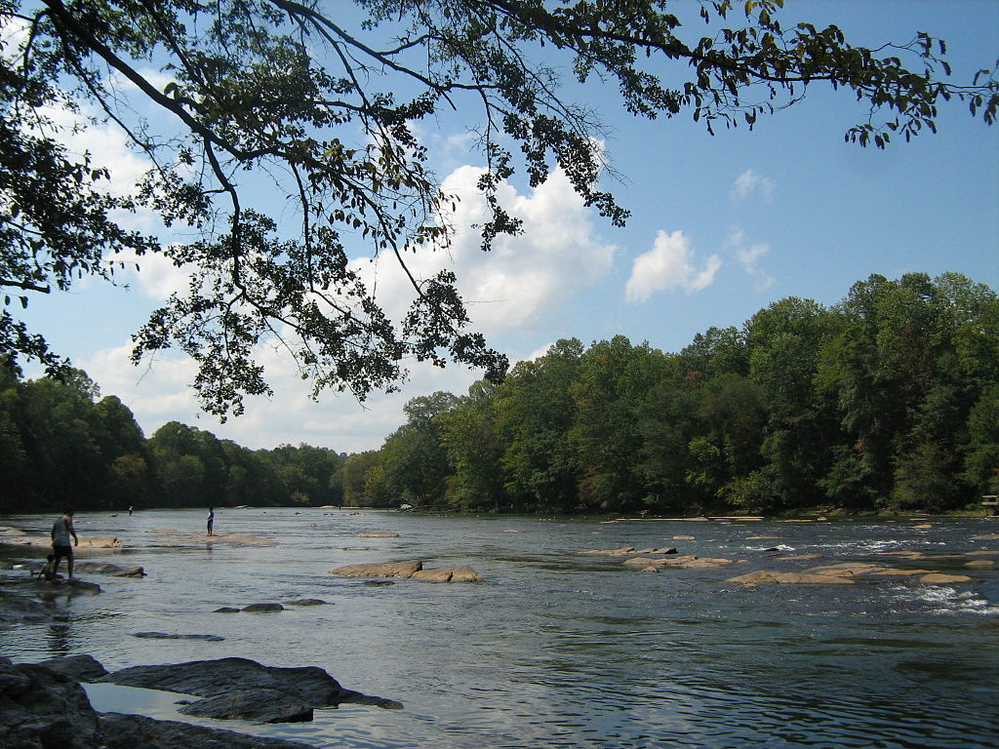 scenic view of Chattahoochee river