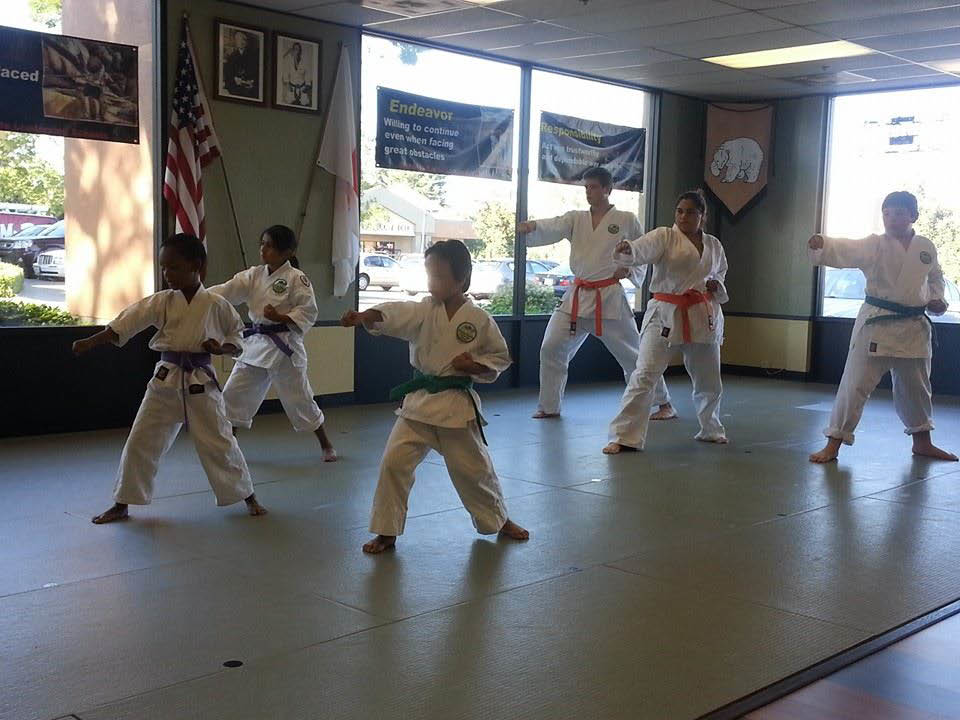 Intermediate Class at Shotokan Karate Leadership School